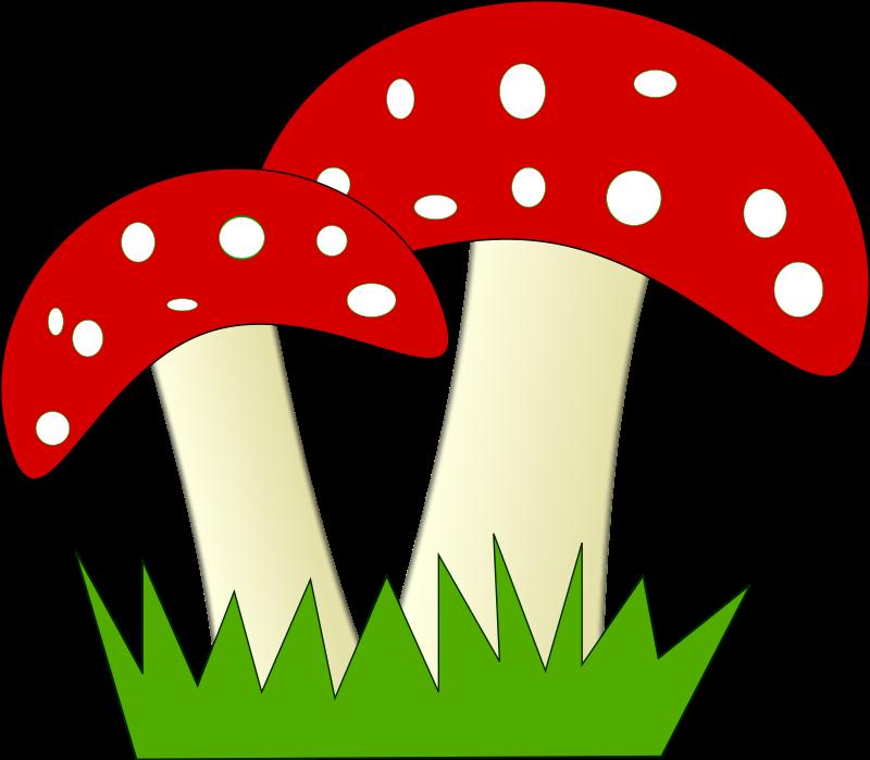 Free to Use & Public Domain Mushroom Clip Art.
