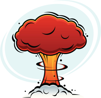 mushroom cloud clipart clipground Animated Mushroom Cloud mushroom cloud clip art free