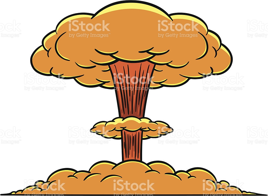 Mushroom Cloud stock vector art 177050190.