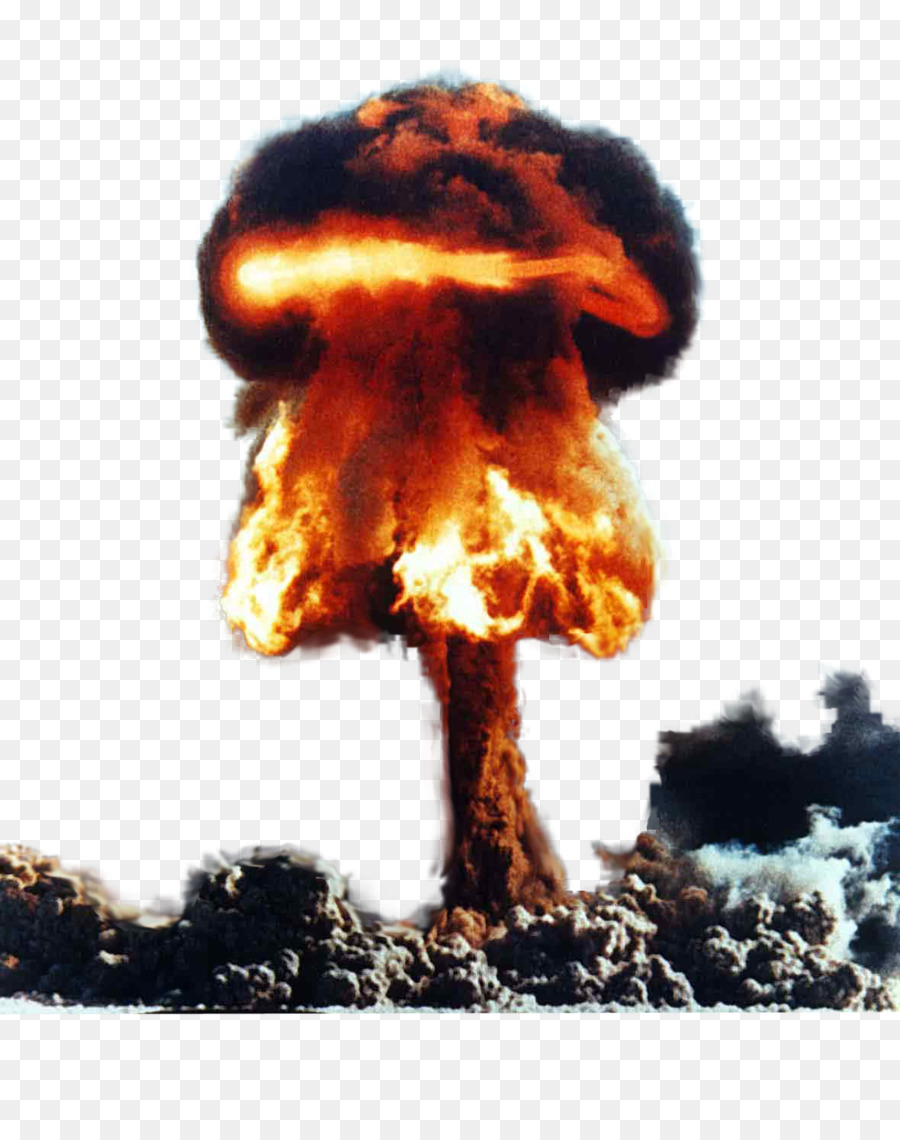 Mushroom Cloud png download.