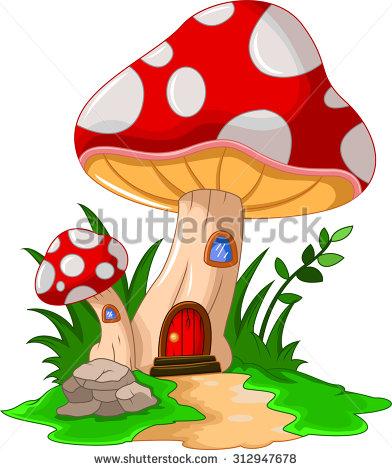 Common Mushroom Stock Photos, Royalty.