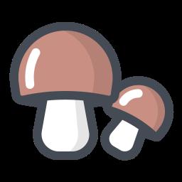 Mushroom Icons.