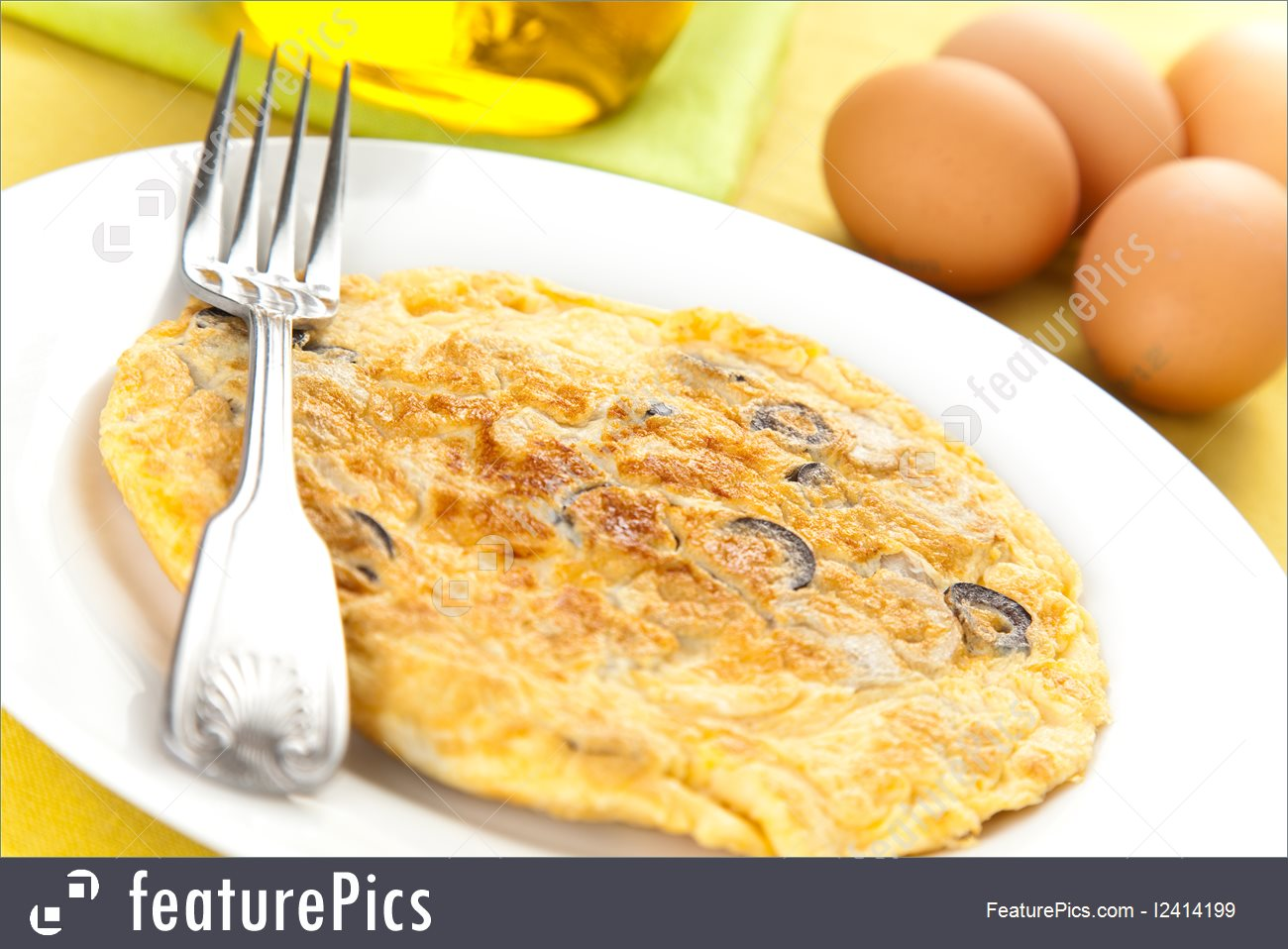 Picture Of Omelette Mushrooms.