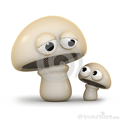3d Mushroom Family Stock Illustrations, Vectors, & Clipart.
