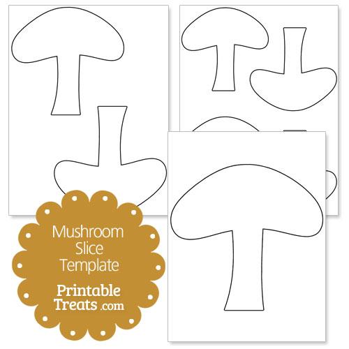 Mushroom Slice Clipart.