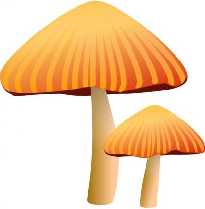 Mushroom plant clipart.