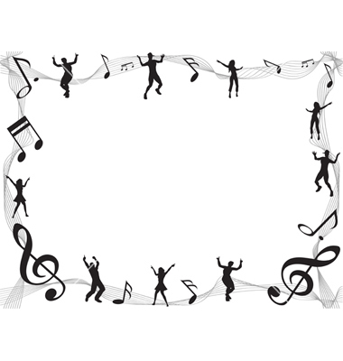 Music Note Border.
