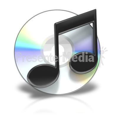 Cd Music Symbol.