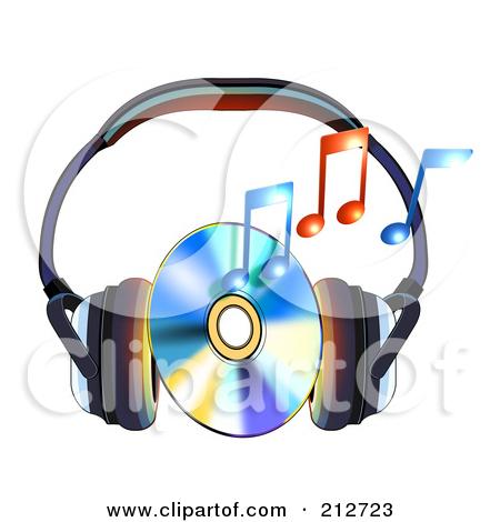 Music cd clip art.