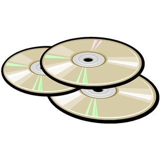 Music CDs clip art..
