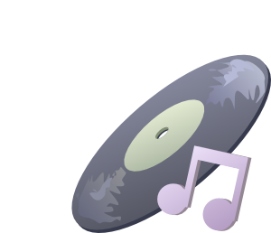 Disk Music Clip Art at Clker.com.
