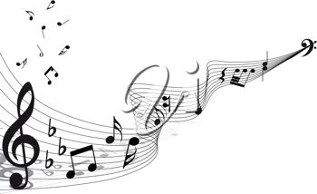 Free Clipart Musical Notes & Musical Notes Clip Art Images.
