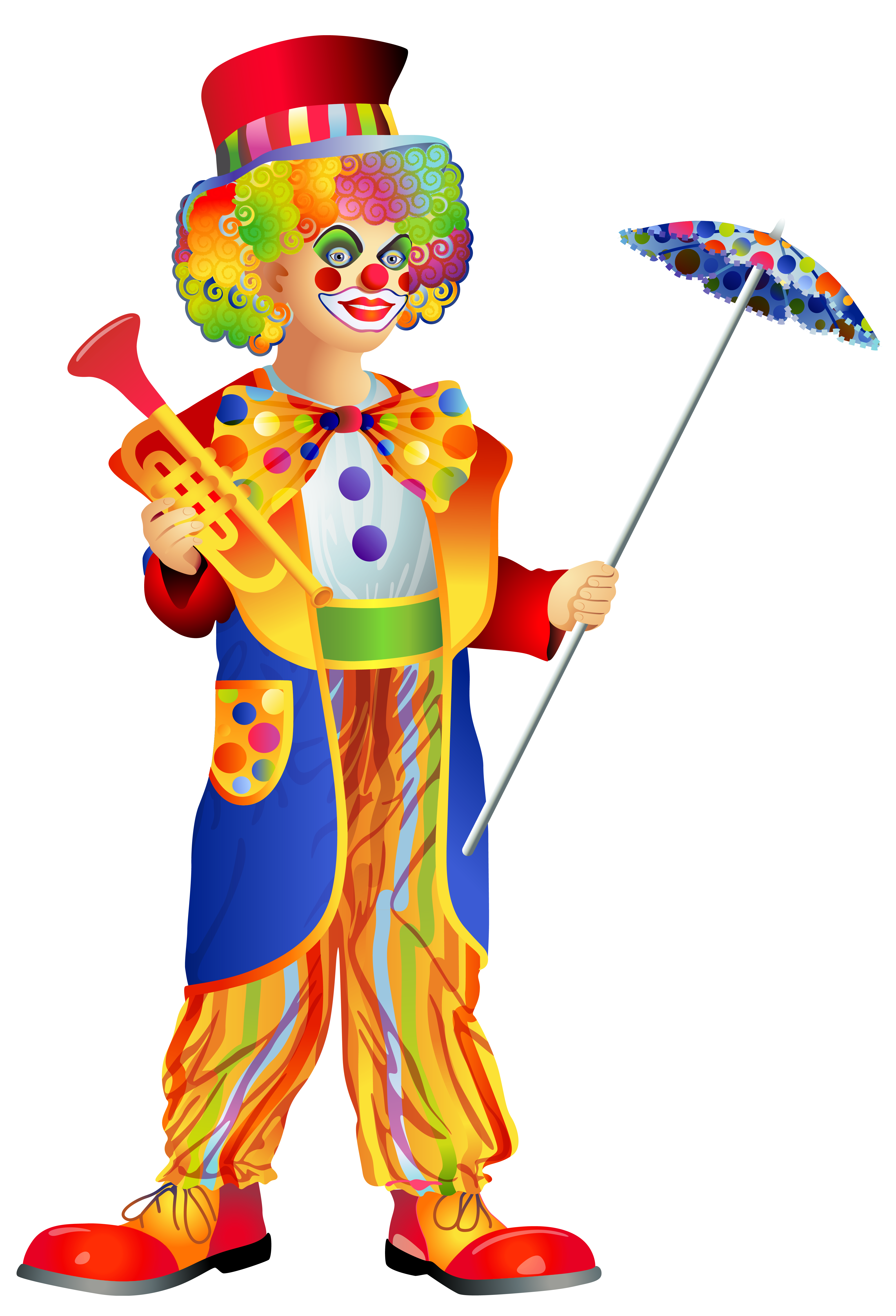 Clown clip art the cliparts.