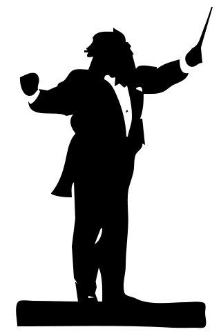 conductor clipart 9765822 orchestra #conductor.