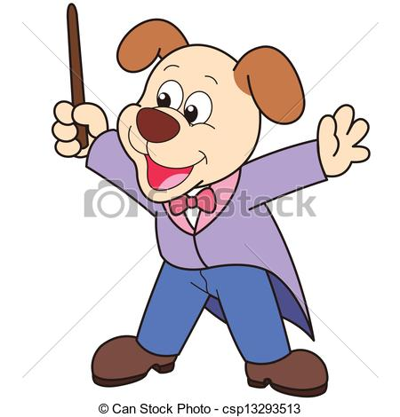 Music conductor Stock Illustrations. 766 Music conductor clip art.