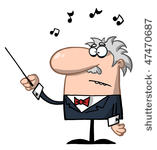 927 free music conductor clipart.