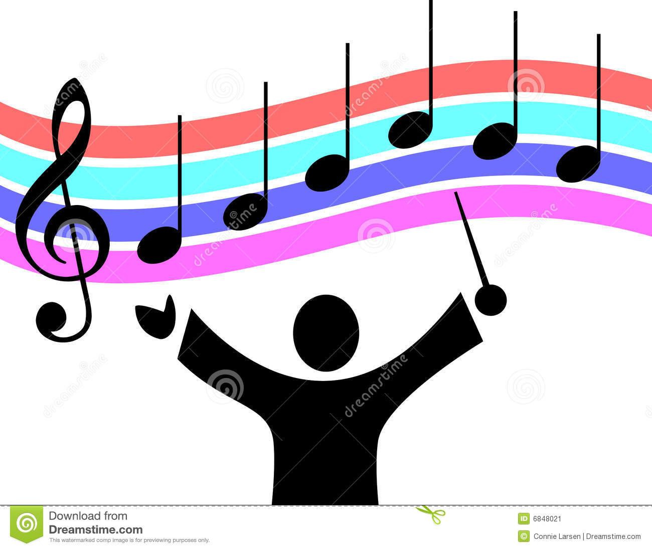 Musician clipart musical director, Musician musical director.