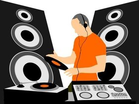 Free DJ Cliparts in AI, SVG, EPS or PSD.