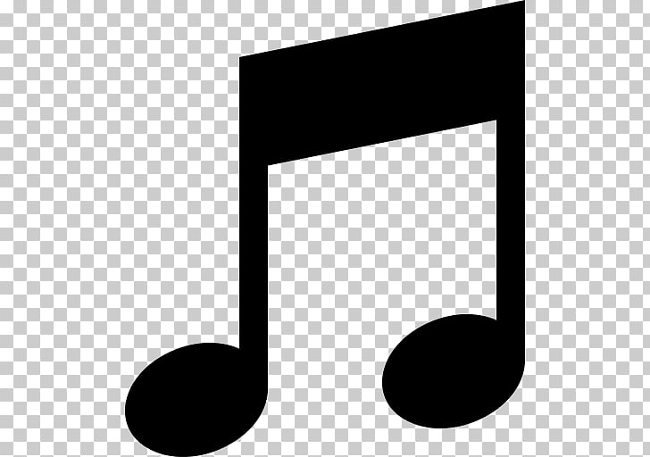 Musical note Song Melody, MUSIC EMOJI PNG clipart.