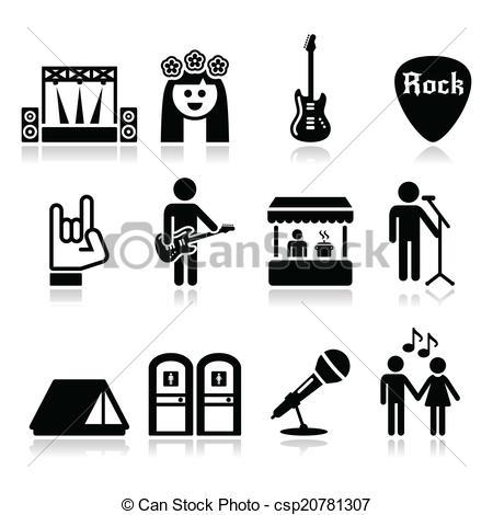 Music Festival Clip Art.