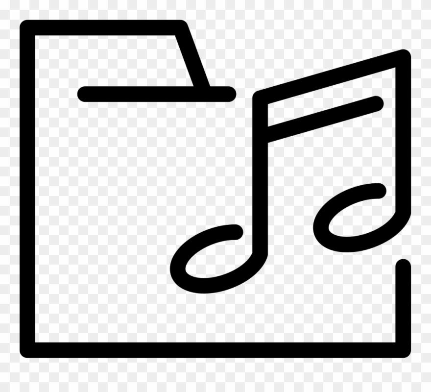 Music Folder Comments Clipart (#4856603).