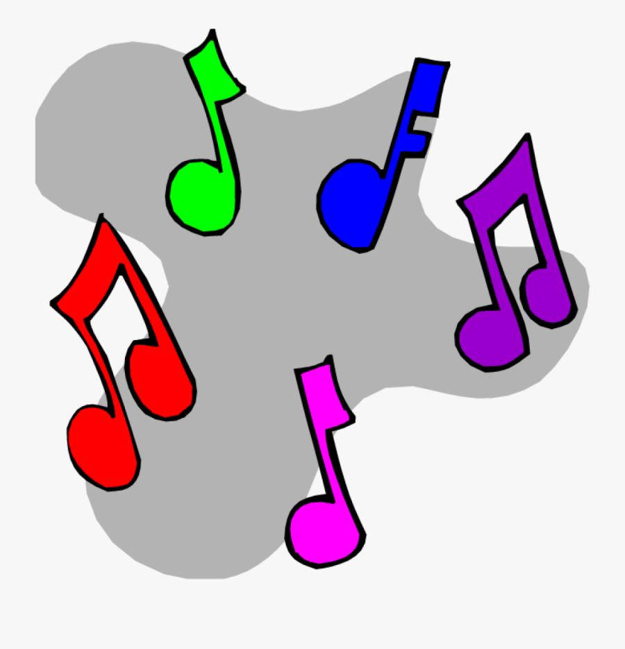 Transparent Music Notes Clipart.