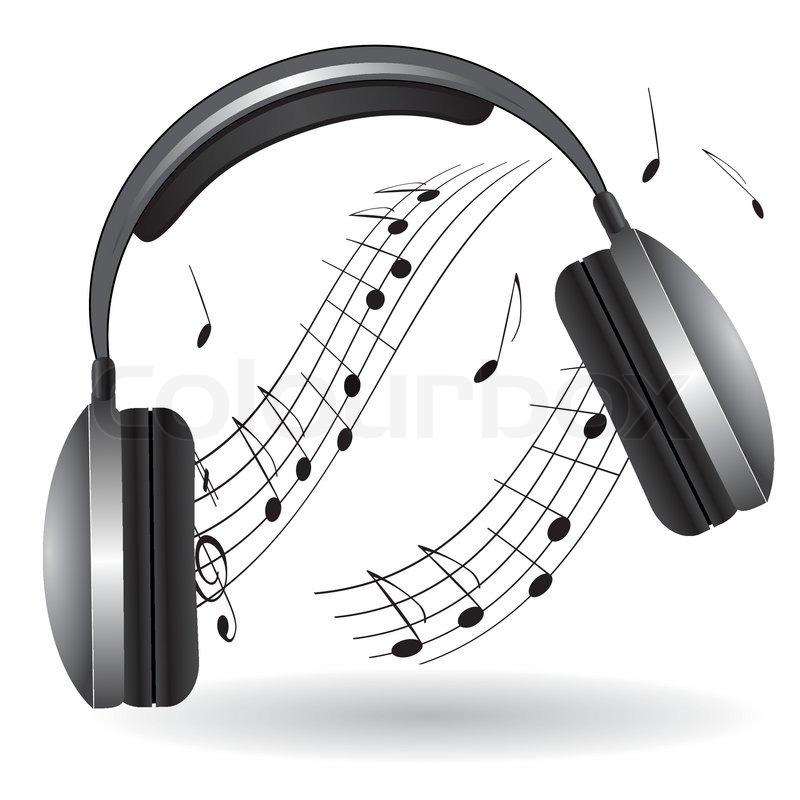Music Headset Clipart.