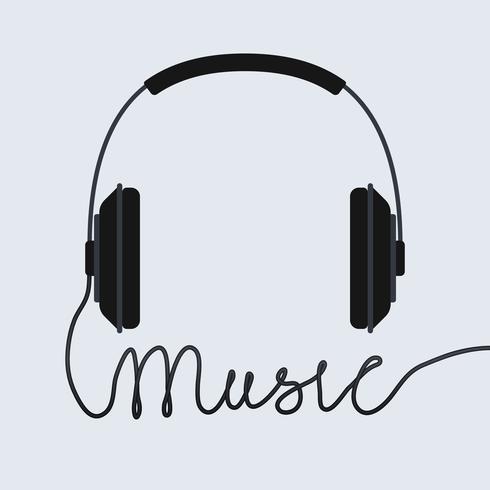 Music headphone icon.