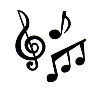 Music Notes Heart Clip Art.