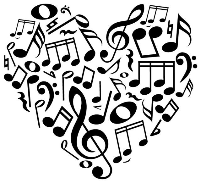 14 Music Note Heart Free Cliparts That You Can Download To You.