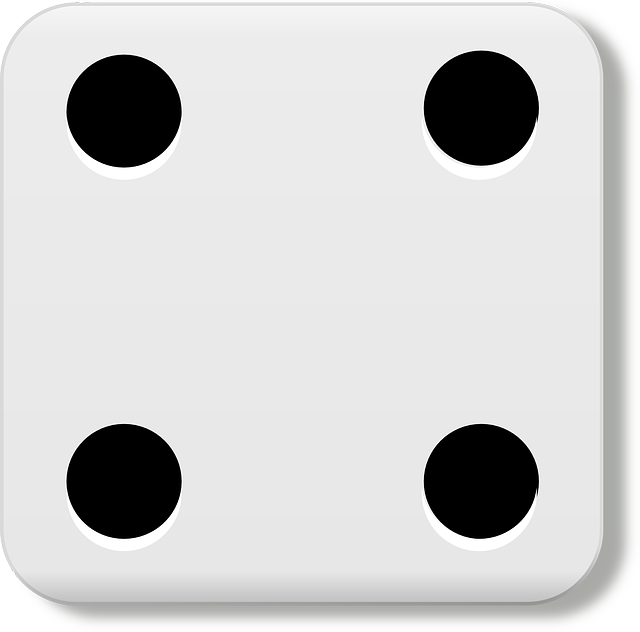 Free vector graphic: Dice, Four, Eyes, Gamble, Luck.