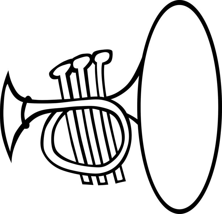 Musical instruments clipart black and white clipart images.