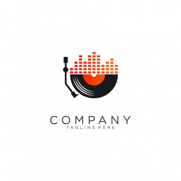 Music logo designs Vector.