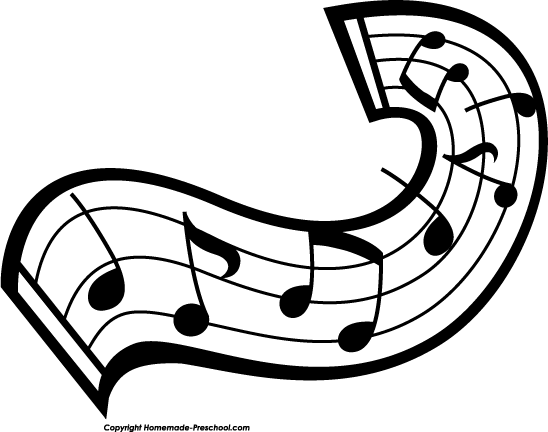 Free Music Notes Clipart.