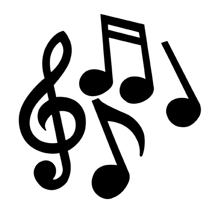 Small Music Notes Clipart.
