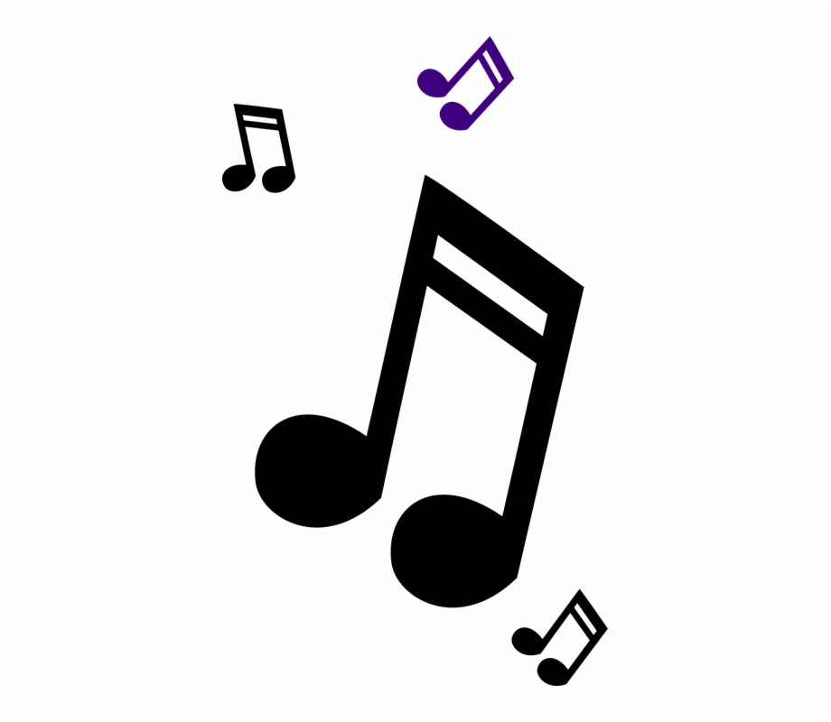 Music Note Logo Design Png.