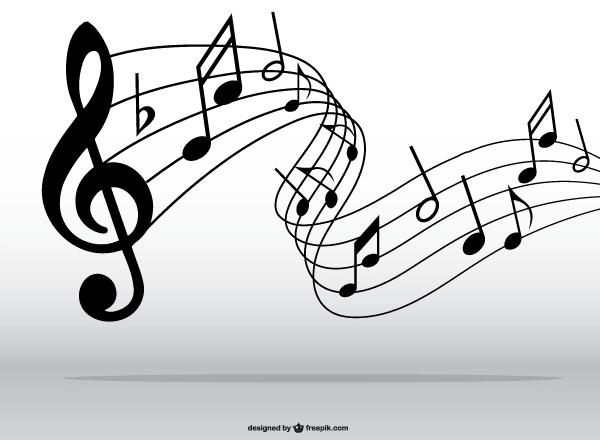 Musical Notes Symbols Clip Art.