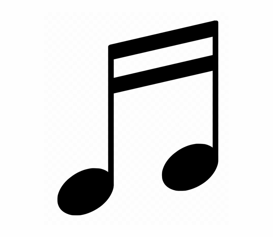 Music Note Free Png Image.