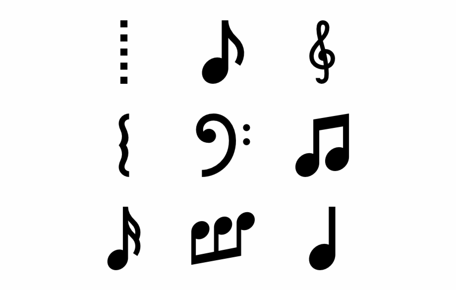 Musical Symbols And Annotations.