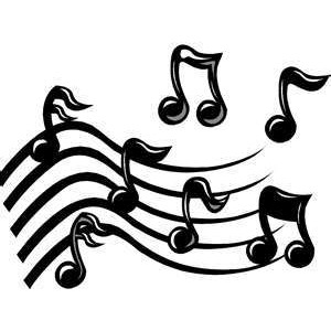 Animated music notes clipart.