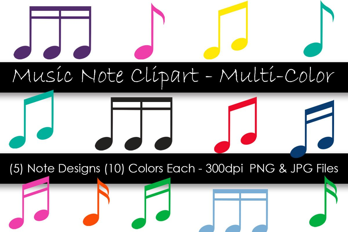 Music Note Clipart.