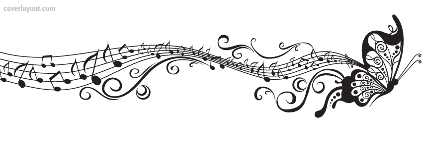 Best Black And White Music Notes #9909.