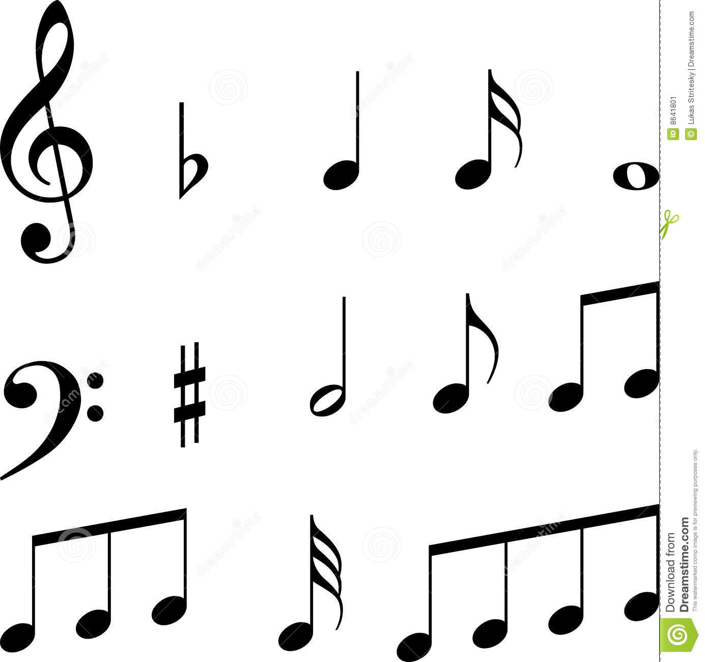Music Notes Symbols For Facebook.
