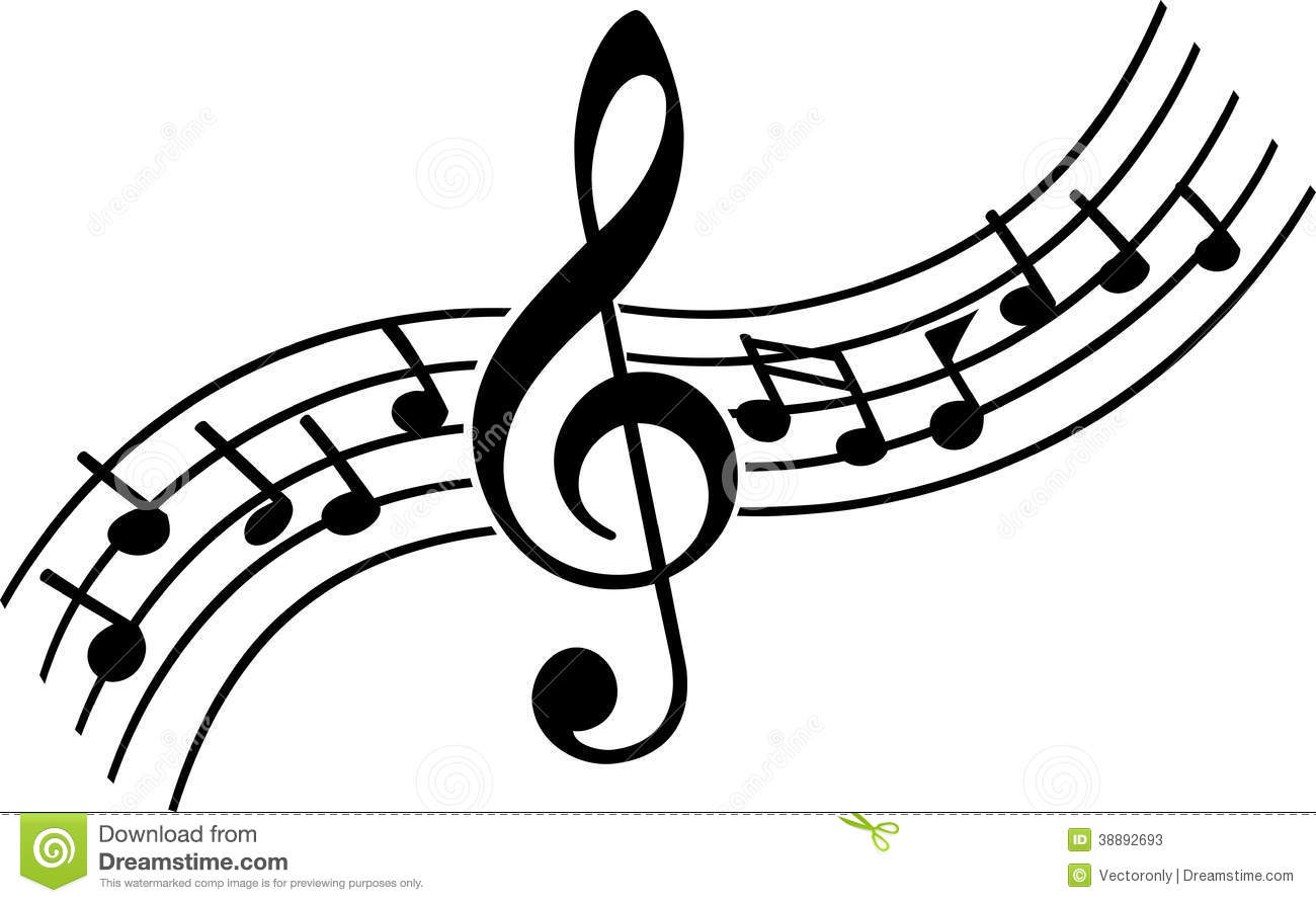 3852 Music Notes free clipart.