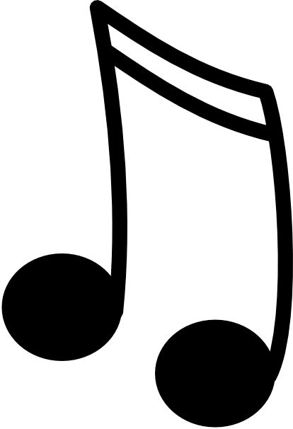 music notes coloring pages nujuwis cliparts black and white.