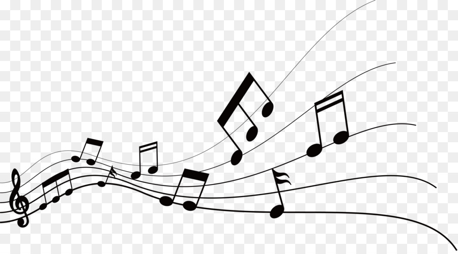 Musical Note Graphic Design.