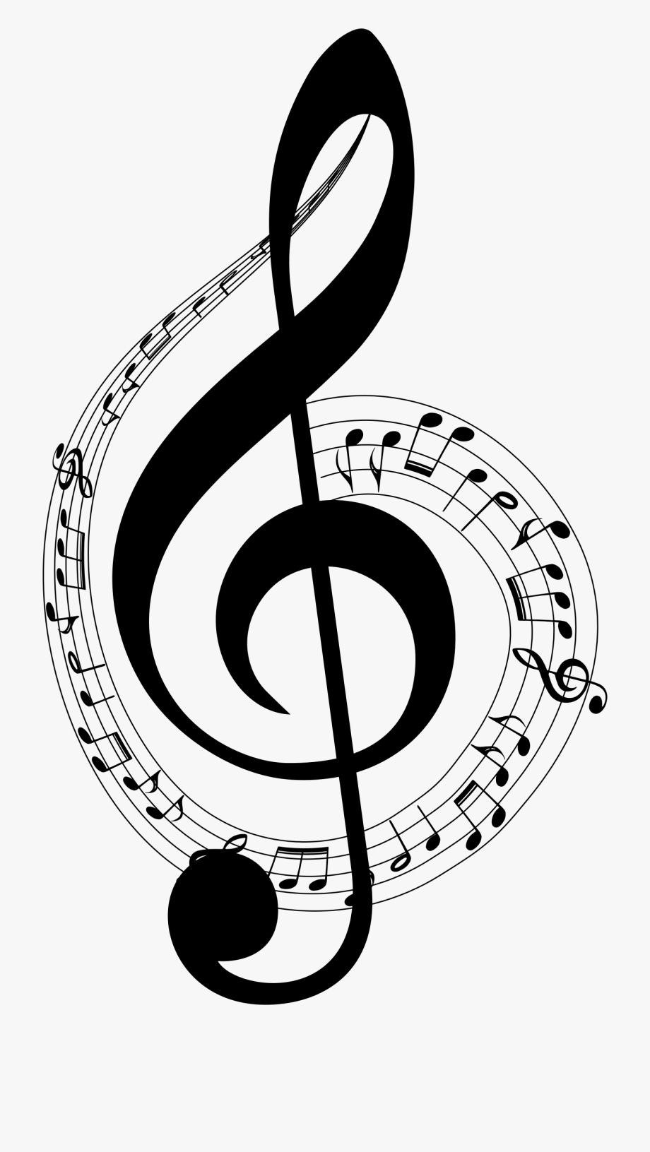 Musical Typography Medium Image Png.