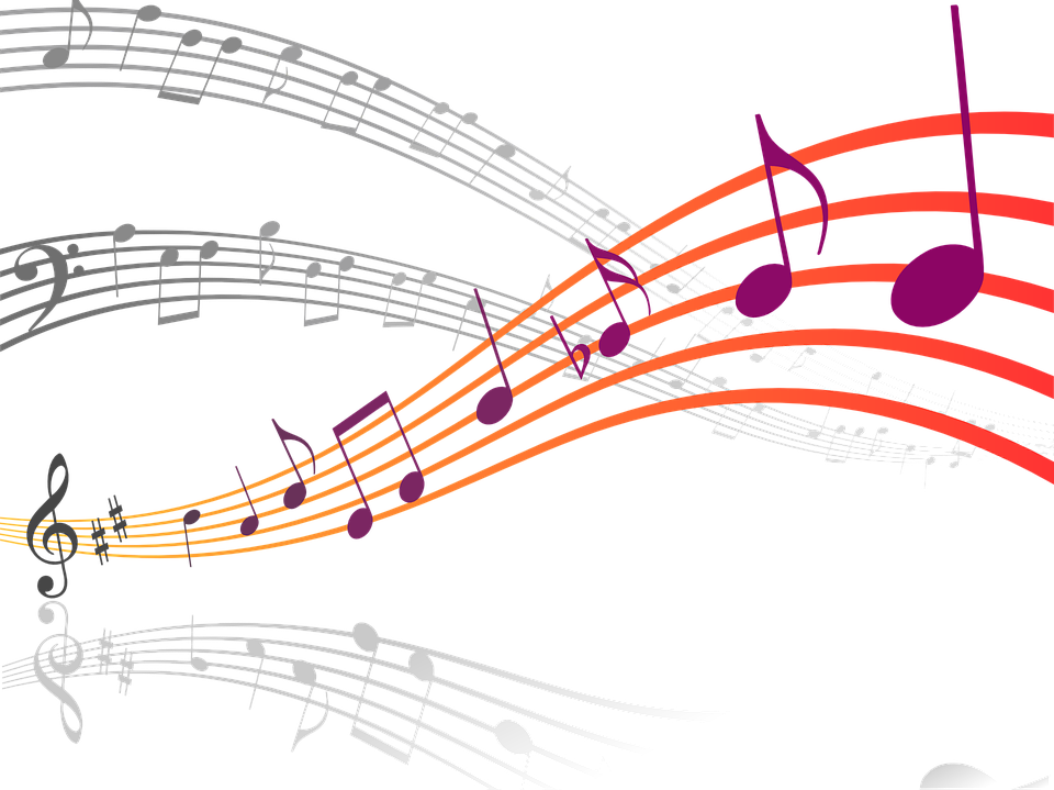 Music Notes Clef.