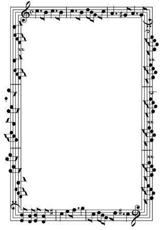 Music Page Border Free Download Clip Art.