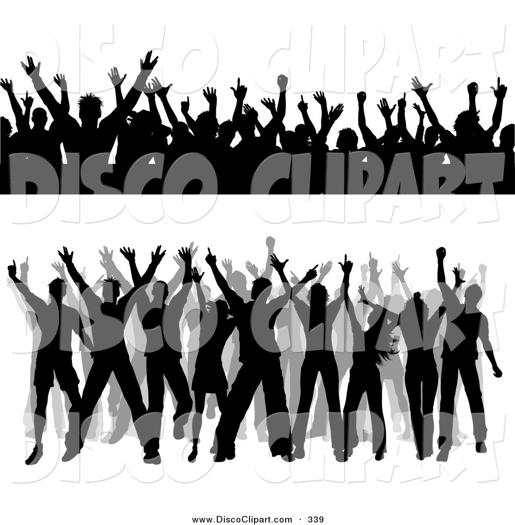 Music People Clipart Black And White.